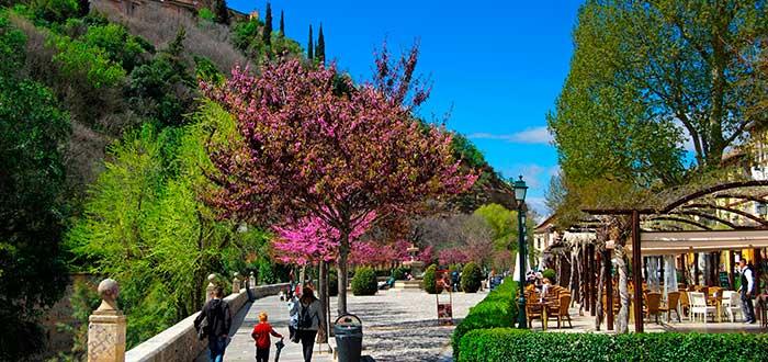 Qué ver en Granada 15 Paseo de los Tristes