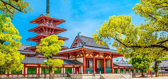 Qué ver en Osaka 10 Shitennoji