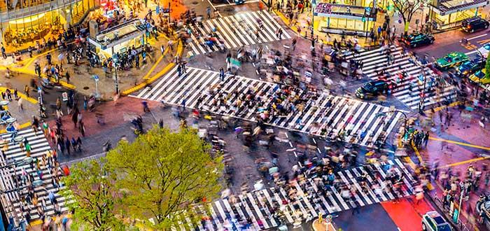 Qué ver en Tokio 5 Cruce de Shibuya