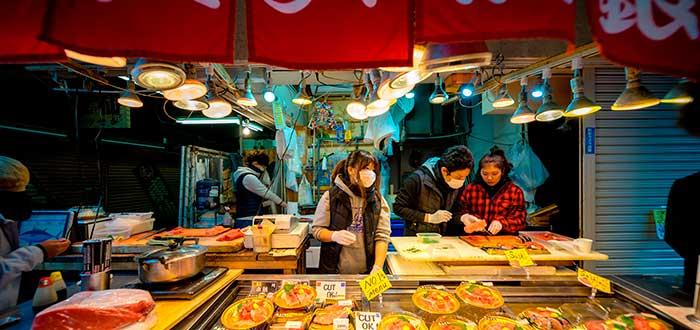Qué ver en Tokio 8 Mercado de Tsukiji