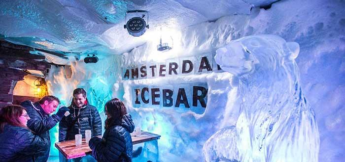 Que ver en Amsterdam, Xtracold Icebar