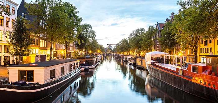 Que ver en Amsterdam, Los canales