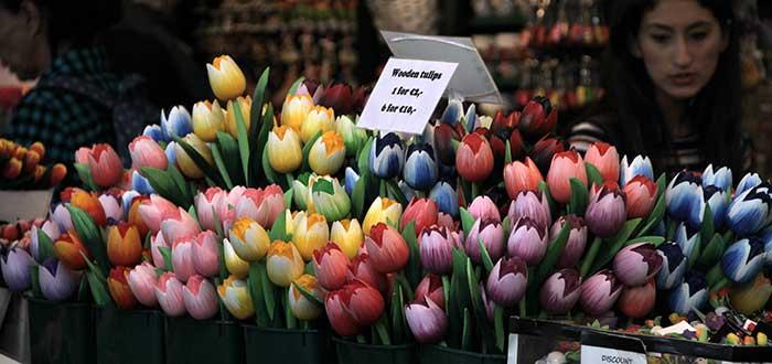 Que ver en Amsterdam, Bloemenmarkt