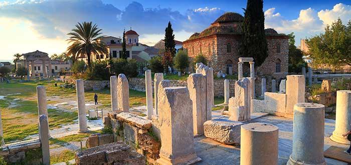 Que ver en Atenas, Ágora Antigua