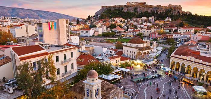 Que ver en Atenas, Monastiraki