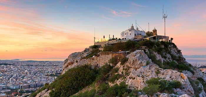 Que ver en Atenas, Monte Licabeto