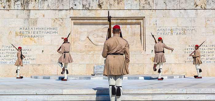 Que ver en Atenas, Plaza Sintagma