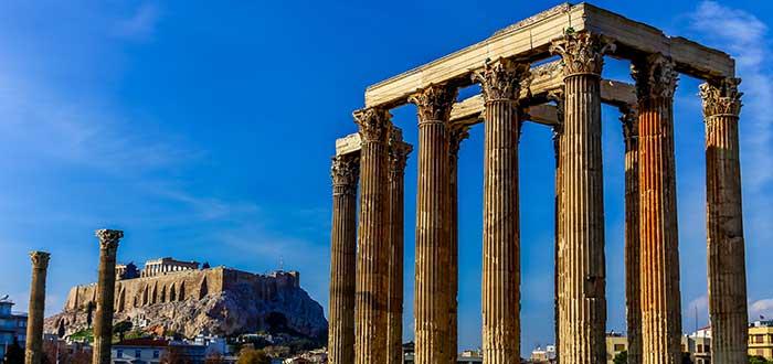 Que ver en Atenas. Templo Olímpico de Zeus