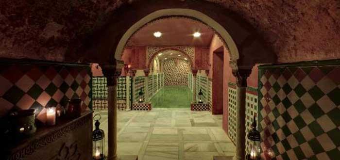 Que ver en Granada, Baños árabes