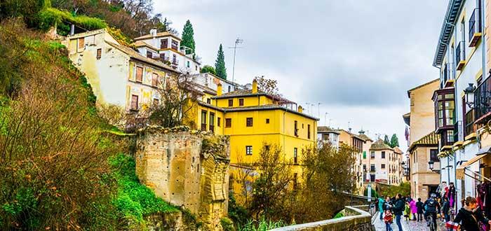 Que ver en Granada, Carrera del Darro