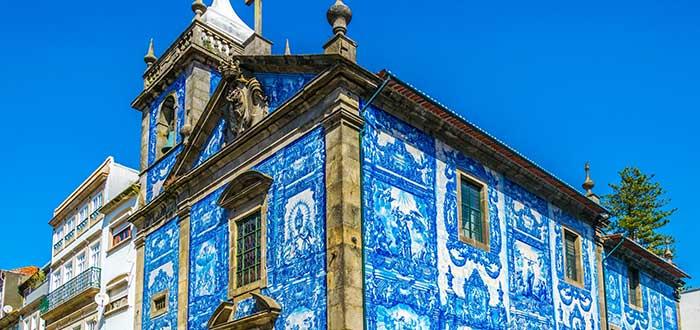 Que ver en Oporto, Capilla de las Almas