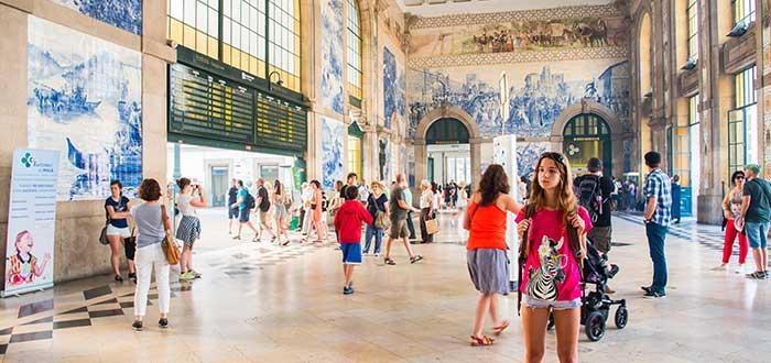 Que ver en Oporto, Estacion de San Bento