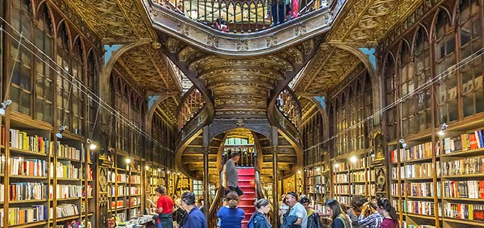 Que ver en Oporto, Libreria Lello e Irmao