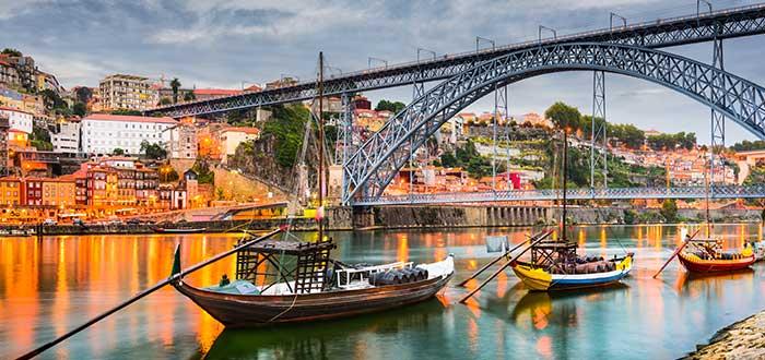 Que ver en Oporto, Puente Don Luis I