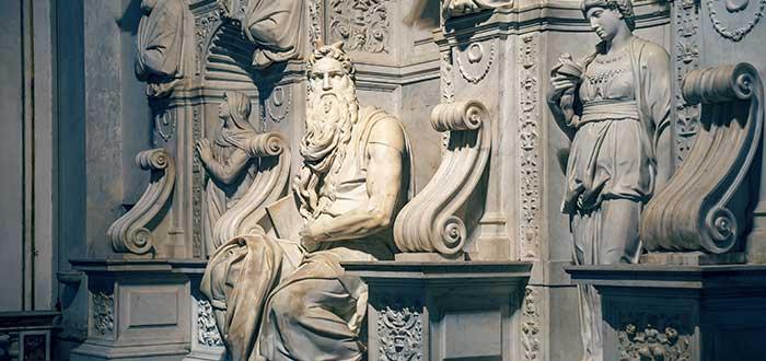 Que ver en Roma, El Moisés de Miguel Ángel