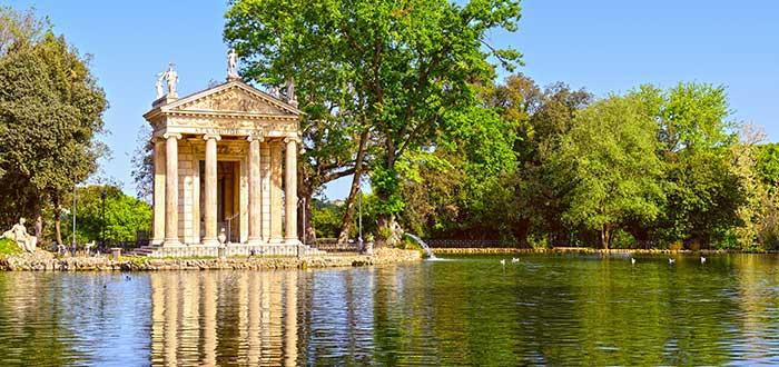 Que ver en Roma, Parque Villa Borghese