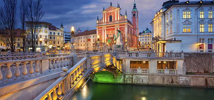 Qué ve en Eslovenia: Liubliana