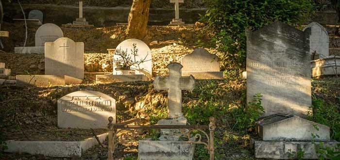 Que ver en Malaga, El Cementerio Ingles