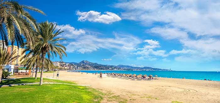 Que ver en Malaga, Playa La Malagueta