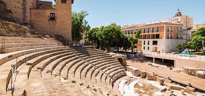 Que ver en Malaga, Teatro Romano