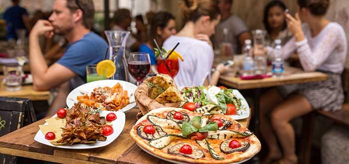 Roma, comida tipica