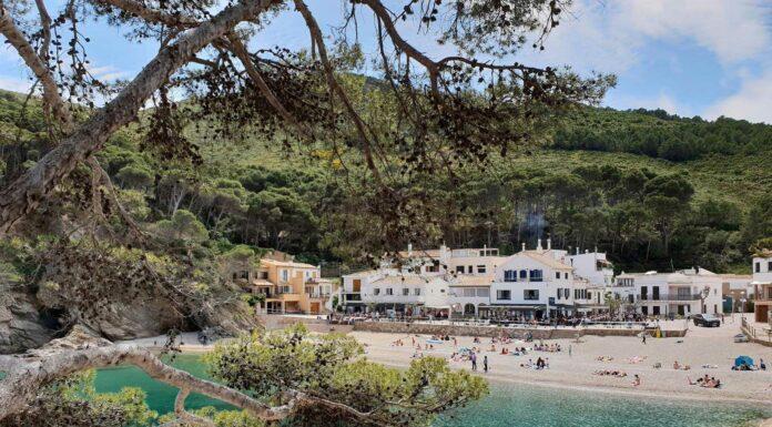 Visitando las playas de Begur con el Samsung Galaxy S9