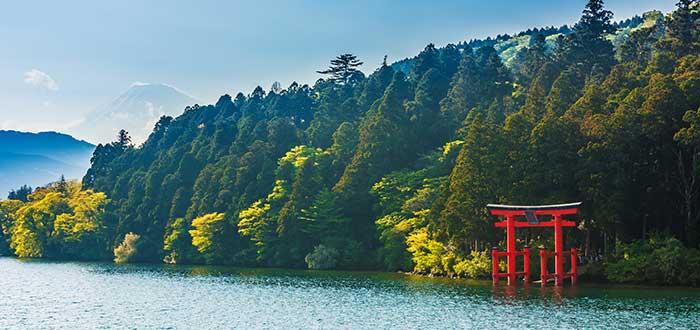 Qué ver en Japón | Lago Ashi
