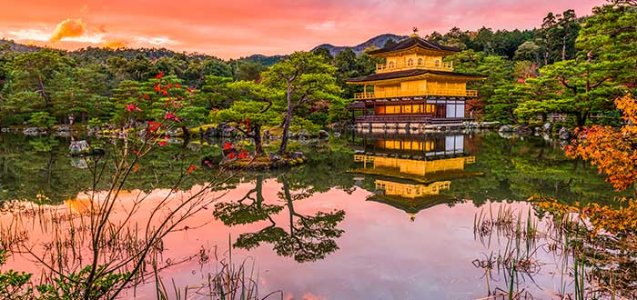 Qué ver en Japón 9 Kinkakuji
