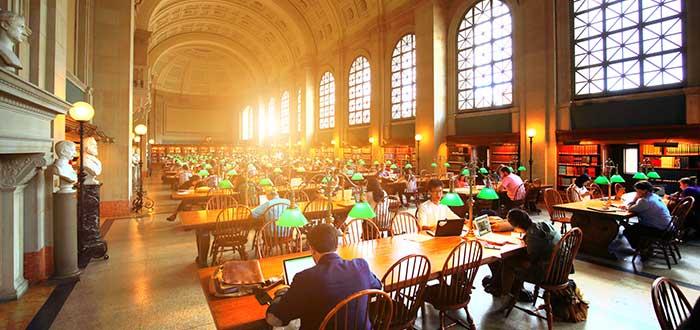 Que ver en Boston, Biblioteca publica de Boston