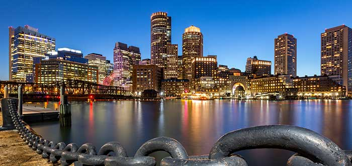 Que ver en Boston, Distrito financiero