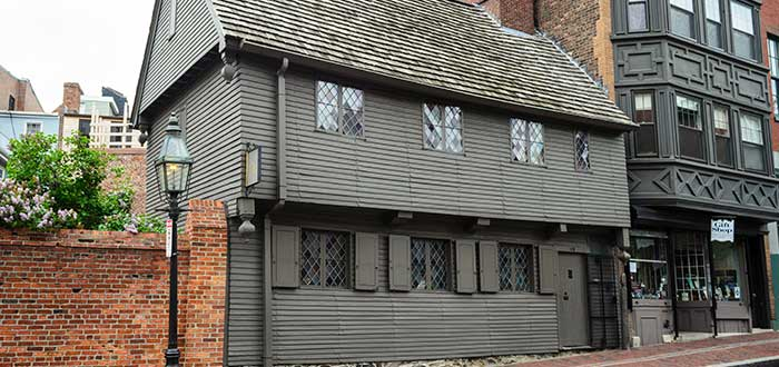 Que ver en Boston, La casa de Paul Revere