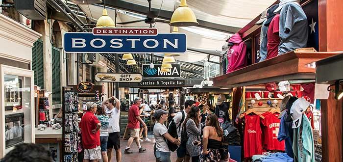 Que ver en Boston, Quincy Market