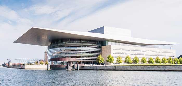 Que ver en Copenhague, Edificio de la Ópera