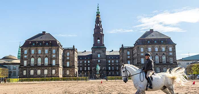 Que ver en Copenhague, Palacio de Christiansborg