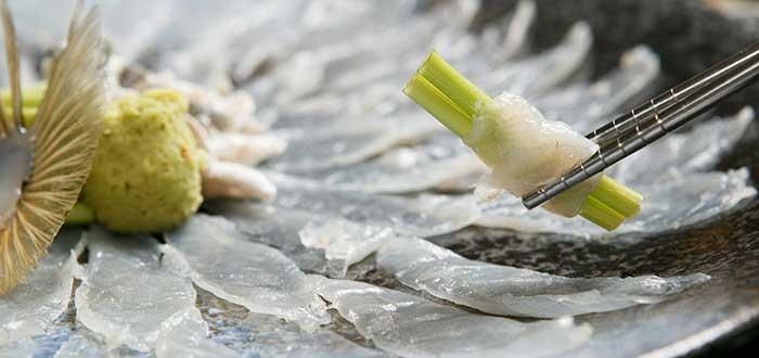 Platos típicos de Japón | Fugu o Pez Globo