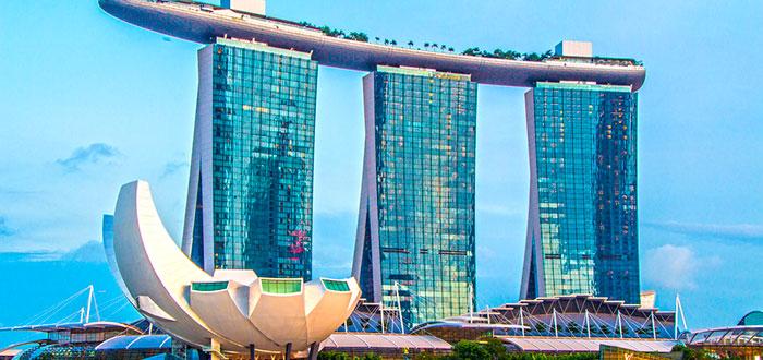 Casinos impresionantes con las mejores ruletas del mundo, Marina Bay Sands