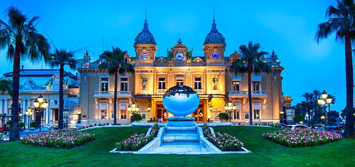 Casinos impresionantes con las mejores ruletas del mundo, Gran casino de Montecarlo