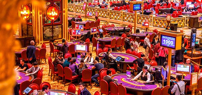 Casinos impresionantes con las mejores ruletas del mundo, The Venetian Macao interior