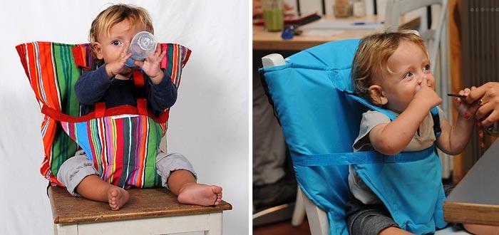 Regalos para viajeros, asiento infantil adaptable