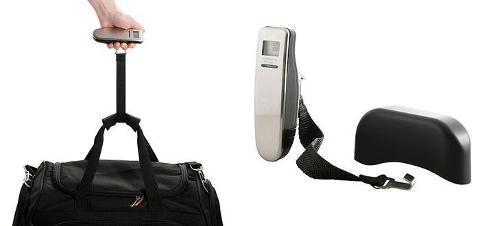 Regalos para viajeros, báscula digital para equipaje