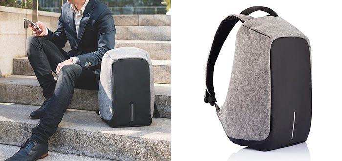 regalos para viajeros, mochila inteligente