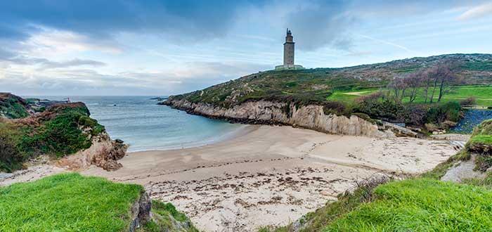 Qué ver en La Coruña | Playa de las Lapas