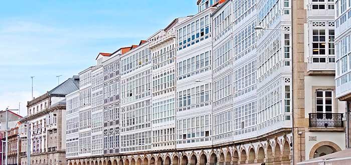 Qué ver en La Coruña | Avenida de la Marina