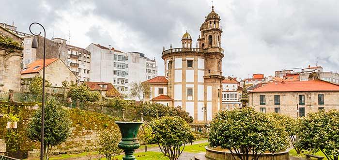 Qué ver en Pontevedra | Iglesia de la Virgen Peregrina