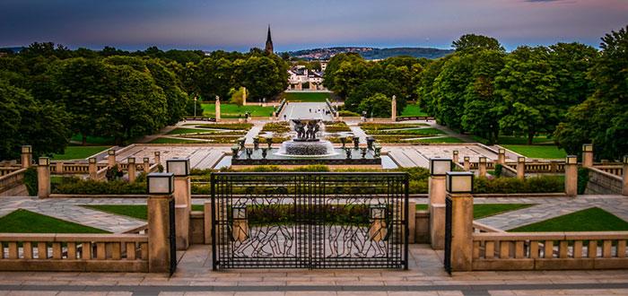 Qué ver en Oslo   Parque Frogner