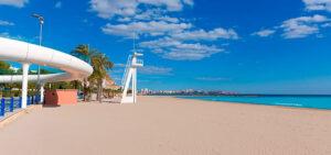 Qué ver en Alicante | Playa del Postiguet