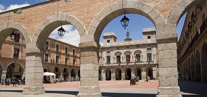 Qué ver en Ávila | Plaza del Mercado Chico