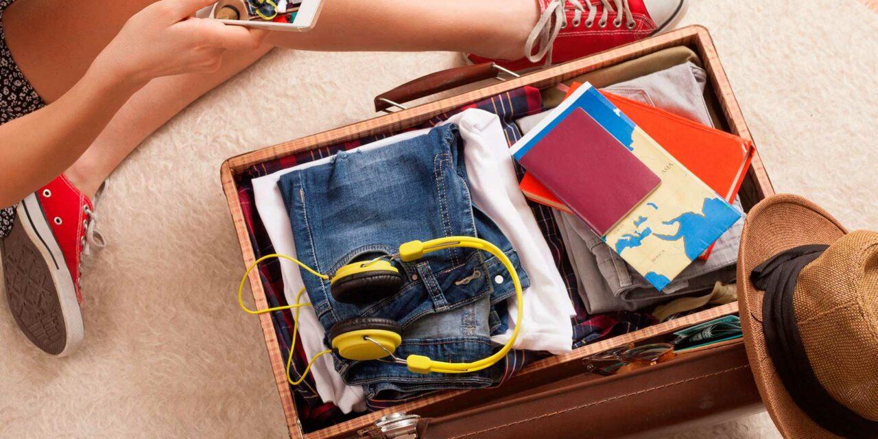 Lo que no debe faltar en tu equipaje antes de salir de viaje