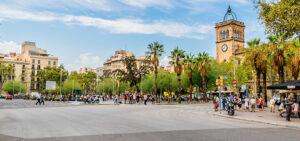 Plaza Universitat aerobús