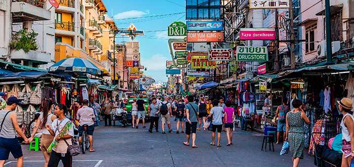 Qué ver en Bangkok | Calle Khaosan